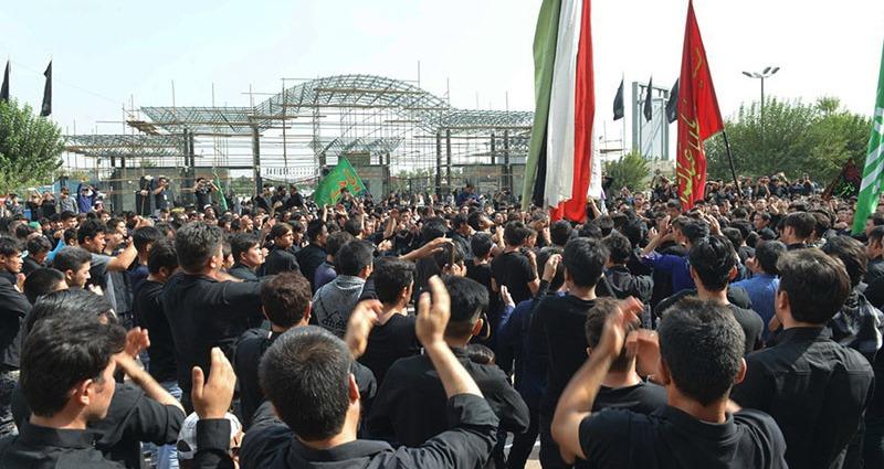 حرم امام خمینی (رح) میں تاسوعای حسینی (ع) کی تقریب