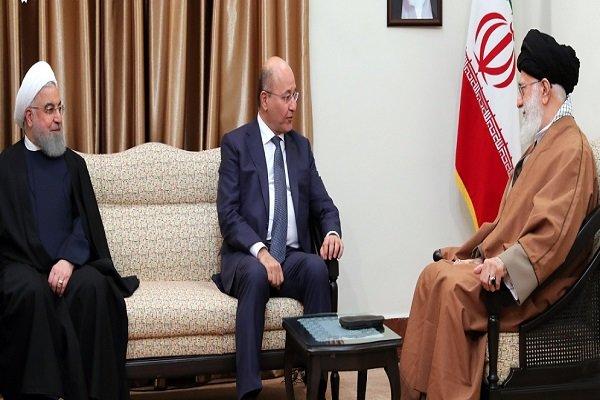 طاقتور عراق کو دشمنوں کا ڈٹ کر مقابلہ کرنا چاہیے