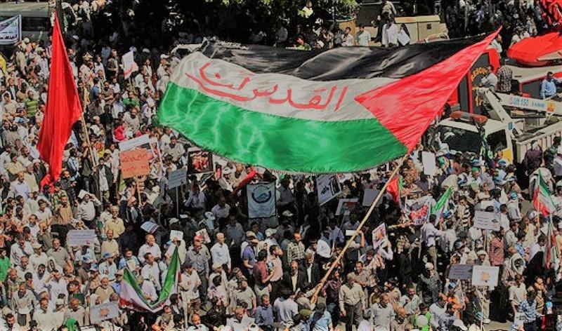 ایرانی قوم کی صہیونی مظالم کی پُر زور مذمت
