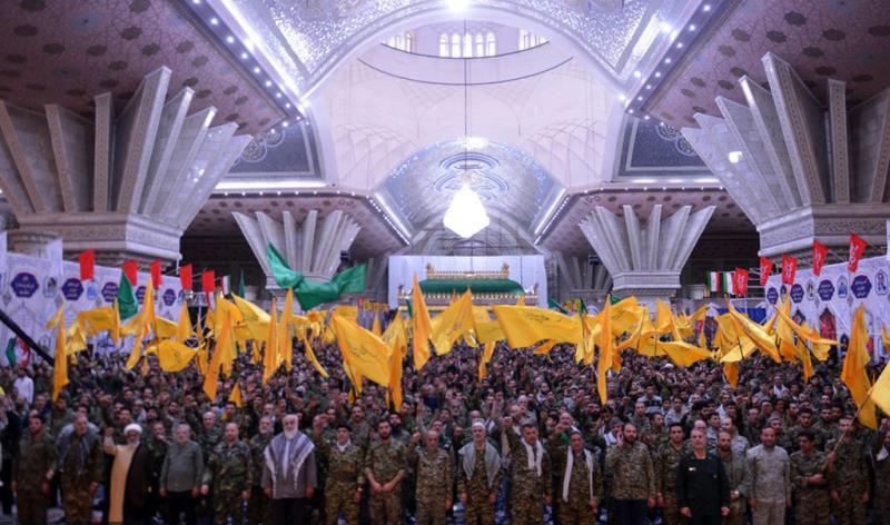 حرم امام خمینی (رح) میں رضاکارانہ فوج کے کمانڈرز کا بڑا اجتماع /2018