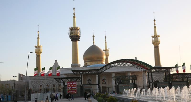 نوروز کے ایام میں حرم امام خمینی (رح) کا ماحول /2018ء