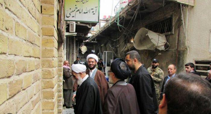 نجف اشرف، امام خمینی (رح) کے تاریخی گھر کا حجت الاسلام و المسلمین ناطق نوری کا دوره/2018