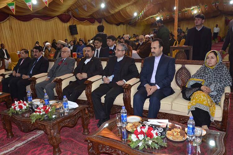 کوئٹہ، ایرانی قونصلیٹ کی جانب سے اسلامی انقلاب کی 39ویں سالگرہ کی تقریب
