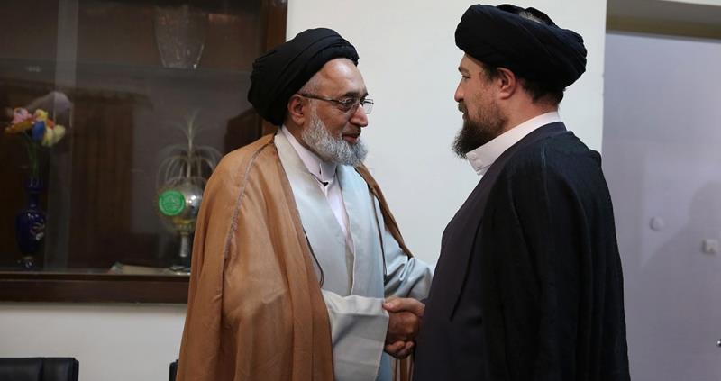 یورپ کے شیعہ علماء کونسل کے کچھ اراکین کی یادگار امام، سید حسن خمینی سے ملاقات /2018