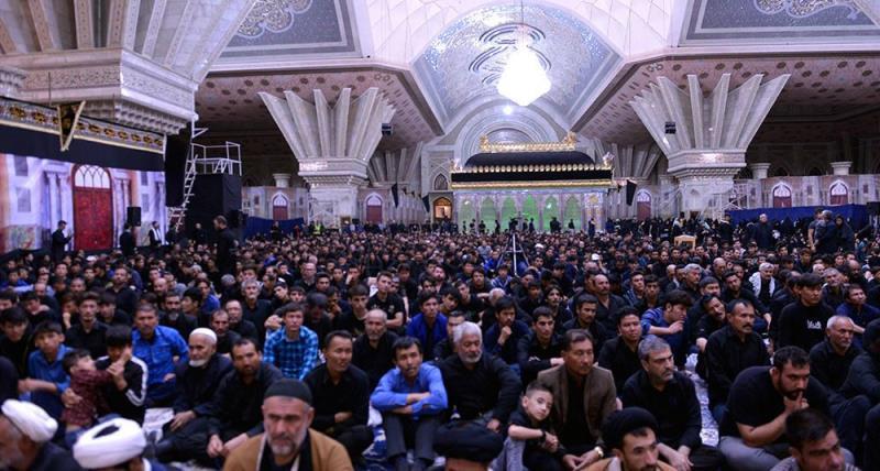 حرم امام خمینی (رح) میں شام غریباں کی تقریب
