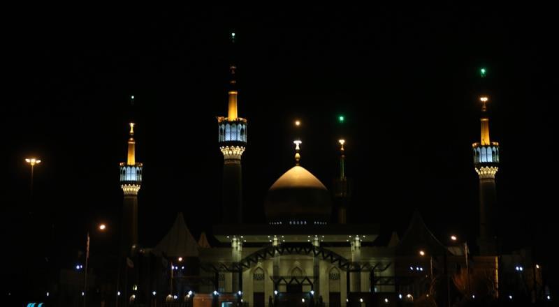حرم امام خمینی (رح) میں حضرت فاطمہ زہرا(س ) کی شہادت کی مناسبت سے مجلس عزا