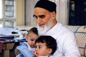 بچوں کے ساتھ امام خمینی (رح) کا رویہ