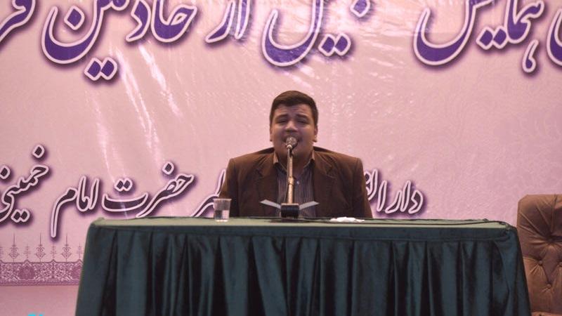 حرم امام خمینی (رح) میں خادمین قرآن و عترت سے تجلیلی تقریب کا انعقاد