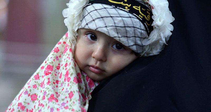 حرم امام خمینی (رح)  میں یوم عاشورا کی عزاداری