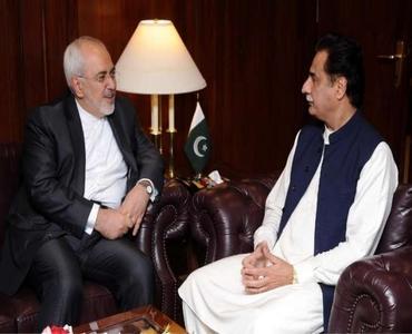 ایرانی وزیر خارجہ جواد ظریف کی اسپیکر ایاز صادق سے ملاقات
