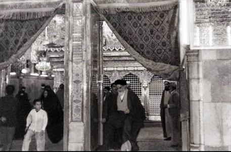 اربعین حسینی میں امام خمینی(رح) کی شرکت