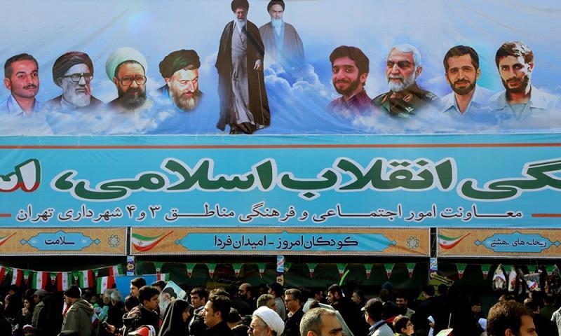 اسلامی انقلاب ایران کی ۳۹ویں سالگرہ کے موقع پر، ایران میں قومی اتحاد، انسجام اور یکجہتی میں شاندار مارچ ۲۲ بہمن ۱۳۹۶