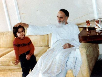 امام خمینی (رح) کا اپنی بیٹی سے برتاو
