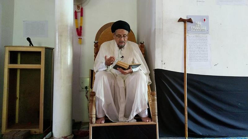 امام خمینی(رح) کے افکار پر عمل ہی عالم اسلام کی نجات کا سبب بن سکتا ہے:مولانا سید مختار حسین جعفری