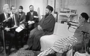 امام خمینی (رح) اور روس کے وزیر خارجہ کی ملاقات