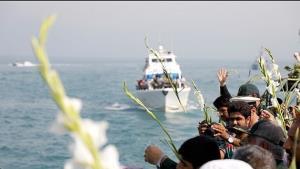 خلیج فارس میں جرم اور امریکہ کمانڈر کو میڈل عطا