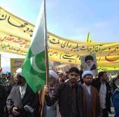مشہد مقدس، ایم ڈبلیو ایم کے وفد کی سیکرٹری جنرل عقیل حسین خان کی قیادت میں انقلاب اسلامی کے جشن میں شرکت
