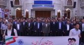 لیبر وزارت کے تعاون شعبے کے سربراہ اور کارکنوں کی حرم امام خمینی (رح) میں حاضری اور ان کی تمناؤں سے تجدید عہد /2018