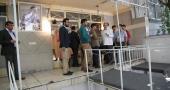 جماران، بھارتی صحافیوں کا امام خمینی (رح) کے گھر کا دورہ