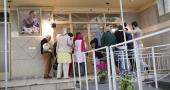 جماران، امام خمینی(رح) کے گھر کا پرتغالی سیاحوں کا دوره
