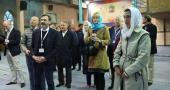 جماران، جرمنی اور آسٹریا سے تعلق رکھنے والے سیاحوں کا امام خمینی (رح) کے تاریخی گھر کا دورہ /2018