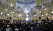 مرحوم آیت اللہ ہاشمی شاہرودی کی باوقار و دلسوز تشییع جنازه