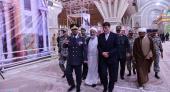 خاتم الانبیاء دفاعی بیس کے کمانڈر کی حرم امام خمینی (رح) میں حاضری اور ان کی تمناؤں سے تجدید عہد /2018