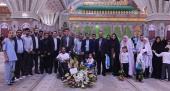 """حرم امام خمینی (رح) میں """"بچہ ہای آسمان"""" آسمان کے بچوں کی حاضری"""
