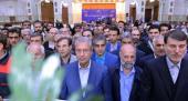 حرم امام خمینی (رح) میں، مزدور کمیٹی کے اراکین کی حاضری اور آپ کی تمناؤں سے تجدید عہد/2018ء