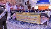 حرم امام خمینی (رح) میں ملک کی عوامی لائبریری کے کارکنوں اور لائبریرین کی حاضری اور ان کی تمناؤں سے تجدید عہد/2018