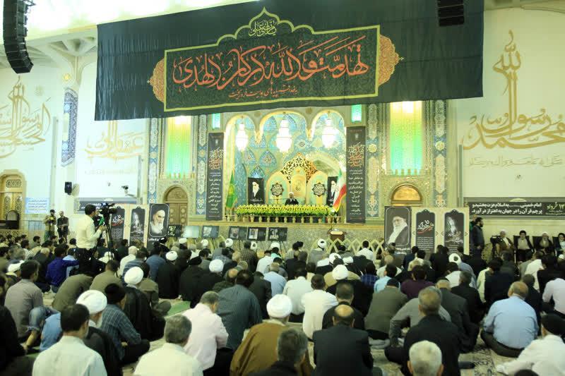 قم میں رہبر کبیر انقلاب اسلامی حضرت امام خمینی ( رہ ) کی 29 ویں برسی عقیدت و احترام سے منائی گئی