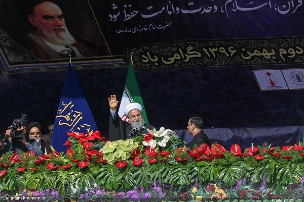 ایرانی عوام کا انقلاب اسلامی سے تجدید عہد