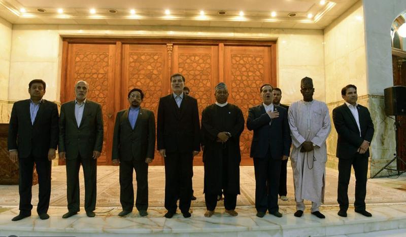 حرم امام خمینی (رح) میں اوپک کے سیکریٹری جنرل کی حاضری اور خراج تحسین /2019