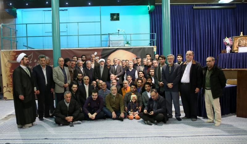 جماران، اسلامی ایسوسی ایشن آف یورپی گریجویٹ کا امام خمینی (رح) کے تاریخی گھر کا دورہ /2019