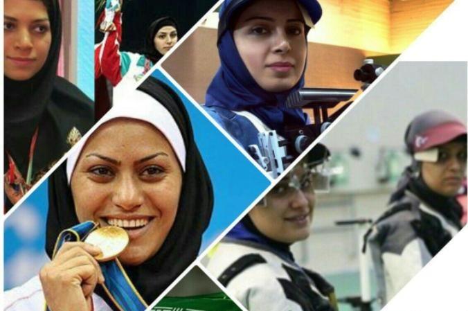 اسلامی انقلاب کی چوتھی دہائی، کھیلوں کے میدان ایرانی خواتین کی فتوحات