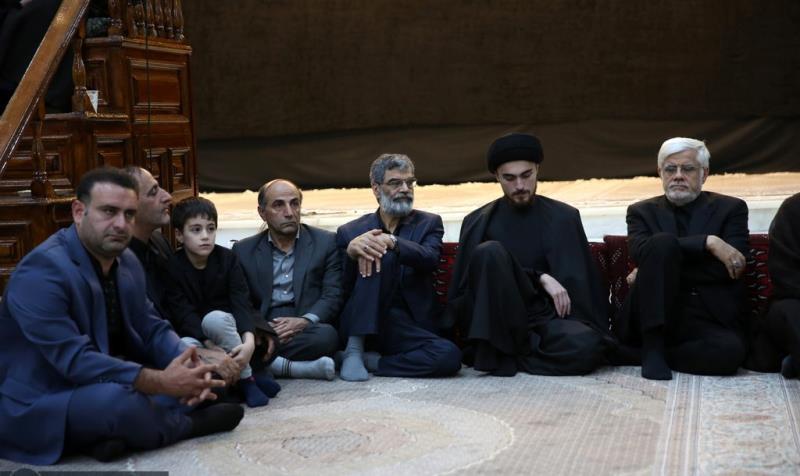 حرم امام خمینی (رح) میں تاسوعای حسینی (ع) کی رات کی تقریب /2019