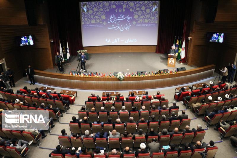 تصویری رپورٹ/اسلامی جمہوریہ ایران کے شہر دامغان میں چوتھی بار غربت کے مجاہدین کی یاد میں منعقد ہونے والی کانفرنس