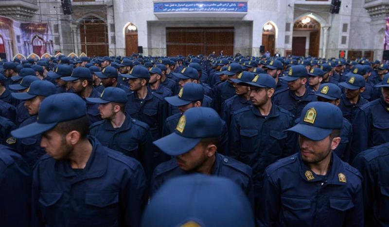 پولیس یونیورسٹی کے طلباء کی حرم امام خمینی (رح) میں حاضری اور ان کی تمناؤں سے تجدید عہد /2019