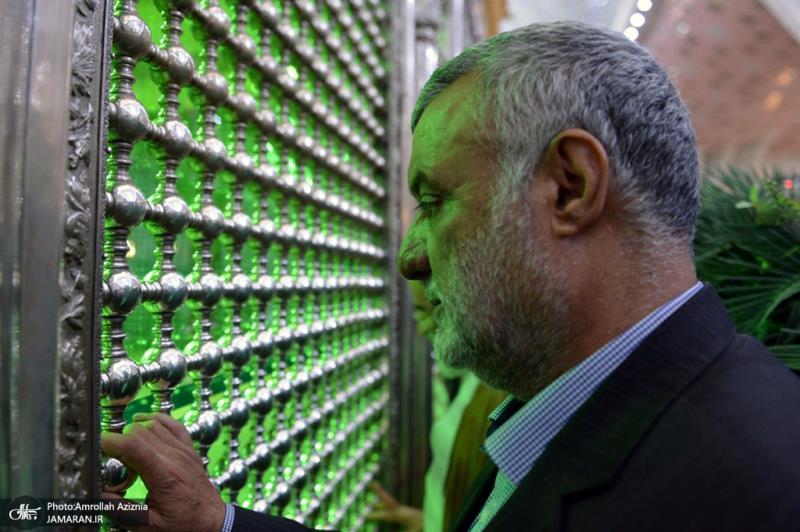 اسلامی جمہوری ایران کے زراعتی وزیر نے اسلامی انقلاب کے بانی تجدیدی عہد کیا۔