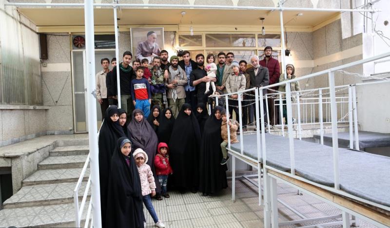 جماران، فارن سیاحوں کا امام خمینی (رح) کے تاریخی گھر کا دورہ /2019