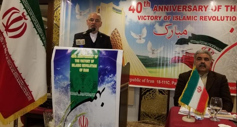 پشاور، انقلاب اسلامی کی 40ویں سالگرہ