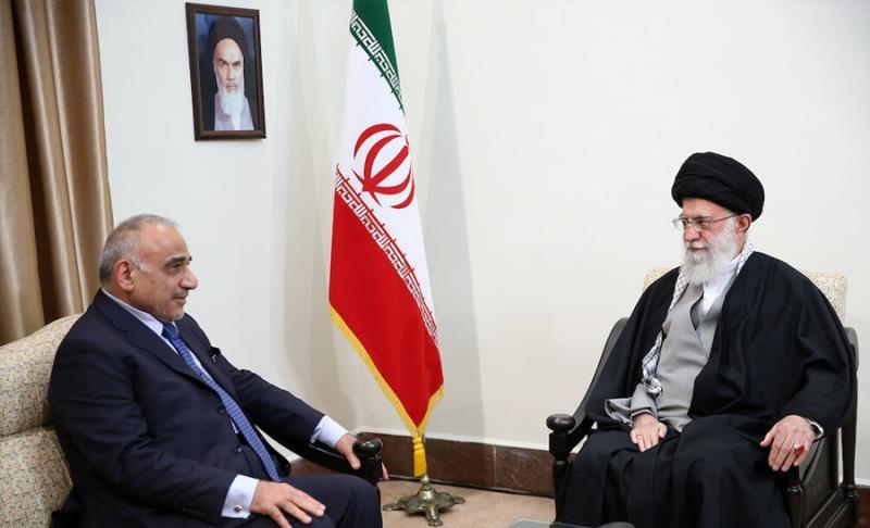 عراقی وزیر اعظم کی رہبر انقلاب اسلامی سے ملاقات