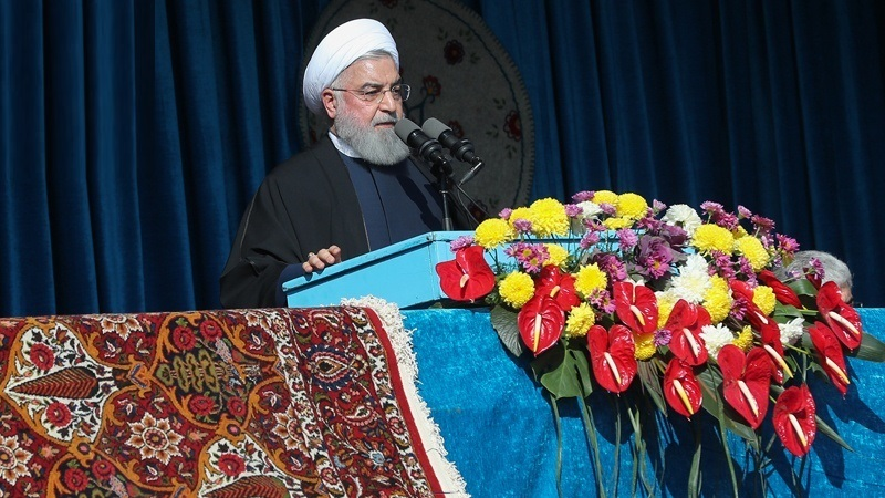 ایران پابندیاں عائد کرنے والوں کا ڈٹ کر مقابلہ کرتا رہے گا