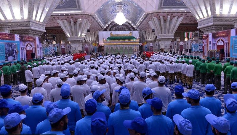 عشرہ فجر کے موقع پر؛ عوام کے مختلف طبقات سے وابستہ افراد، مرقد امام خمینی (ره) میں حاضری اور تجدید عہد(5) /2019