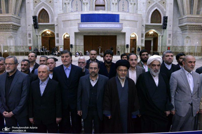 ثقافتی انقلاب کی سپریم کونسل کے اعلی حکام کی اسلامی انقلاب کے بانی سے تجدید عہد