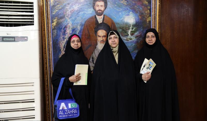 جماران، نوروزی سیاحوں کا امام خمینی (رح) کے تاریخی گھر کا دورہ -3 /2019