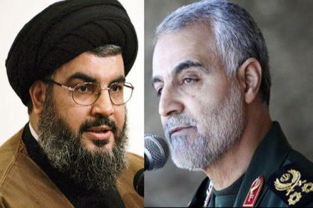 سید حسن نصراللہ اور قاسم سلیمانی سے  اسرائیلی کمانڈر خوفزدہ