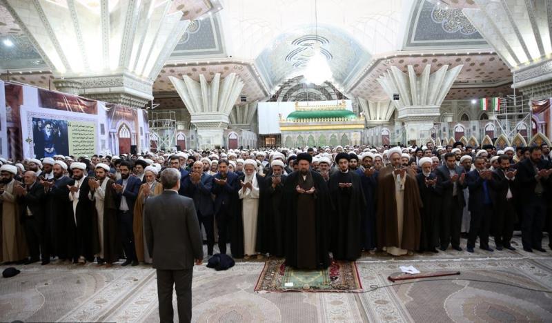 حرم امام خمینی (رح) میں سال کے آخری جمعرات کی تقریب /2019