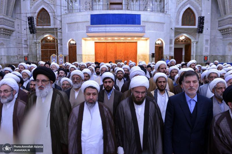 آئمہ جمعہ نے اسلامی انقلاب کے بانی سے تجدید عہید کیا
