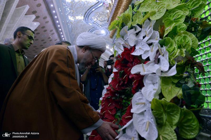 تصویری رپورٹ/ تینتیسویں بین الاقوامی وحدت اسلامی کانفرنس کے شرکاء نے امام خمینی(رح) سے تجدید عہد کیا